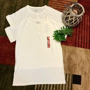 Brand New Mossimo Henley 2 pieces
